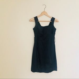 charlotte russe / sleeveless black mini dress